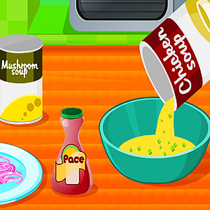 Play Cooking chicken soup