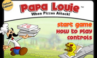 Play Papa Louie When Pizzas Attack