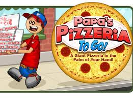 Play Papas pizza games