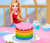 Play Princesses Unicorn Cakes And Drinks