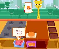 Play Purple Pink Burger Shop