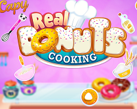Play Real Donuts Cooking
