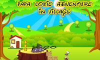 Papa Louie Adventure In Village